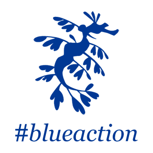 Blue Action ロゴ